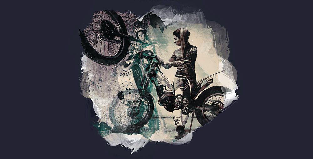 Natural Born Lady Rider 2017